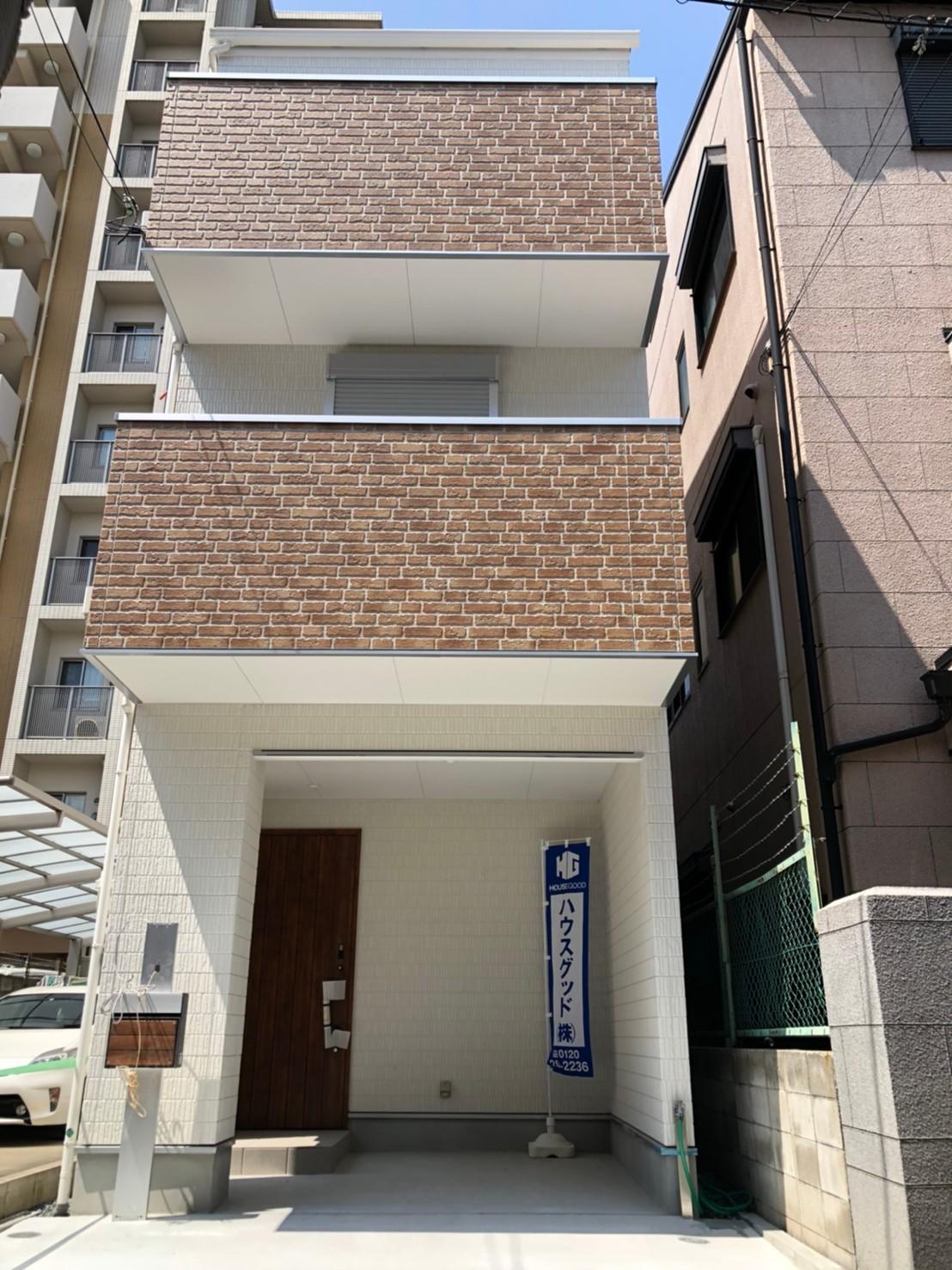 阿倍野筋5丁目新築戸建 即入居可能です